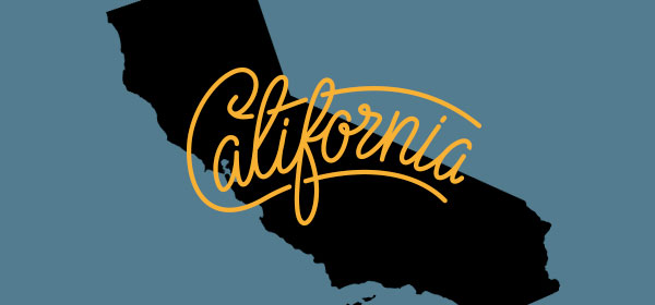 California state graphic