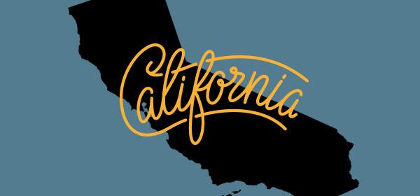 California state graphic